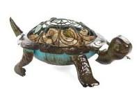 "14"" Turtle Wine Cork Caddy"