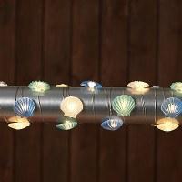 10 ft. LED Scallop Light String