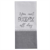 "18"" Drink All Day Knit Towel"
