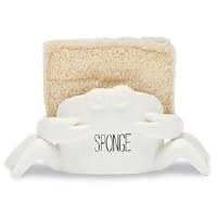 "3.5"" White Crab Sponge Caddy"