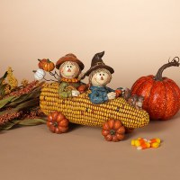 """10"""" Two Scarecrows In Corn Car"""