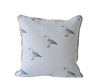 "18"" Square Seagulls Pillow"