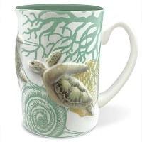 14 oz 3D Turtle Mug