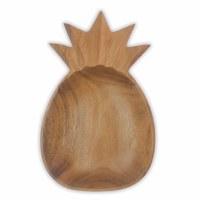 "8"" Wooden Pineapple Bowl"