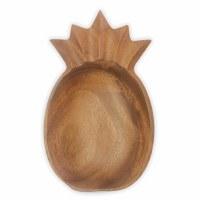 "10"" Wooden Pineapple Bowl"