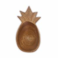 "5"" Wooden Pineapple Bowl"