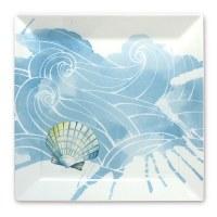 "8"" Ocean Ceramic Salad Plate"