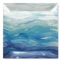 """11"""" Ocean Ceramic Dinner Plate"""