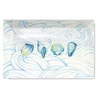 "16"" Ocean Ceramic Platter"