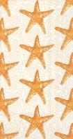"9"" x 5"" Gold Starfish Guest Towels"