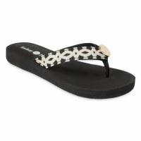 Size 10 Lindsay Phillips  Black Lulu Flip Flop