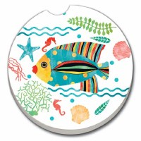 Car Coaster Otomi Fish