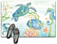 "20"" x 30"" Sealife Serenade Cush Mat"