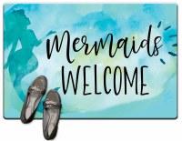 "20"" x 30"" Mermaids Welcome Cush Mat"