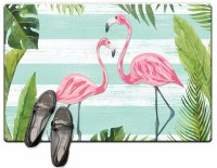 "20"" x 30"" Flamingo Stripes Cush Mat"