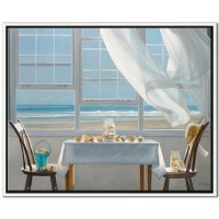 "40"" x 50"" Shell Collectors Canvas Framed"