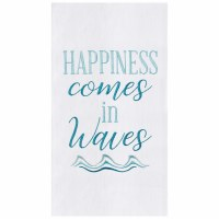 "27"" x 18"" Happiness Waves Kitchen Towel"