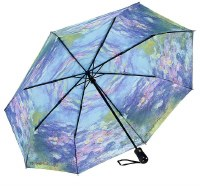 Waterlilies Folding Umbrella Reverse