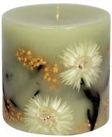 "4"" x 4"" Sage Luminary Pillar Candle"