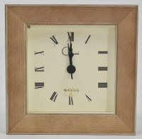 "4"" Square Taffy Clock"