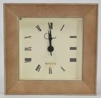 "4"" Square Taffy Clock"