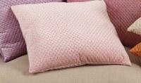 """18"""" Square Blush Velvet Pillow"""