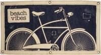 """40"""" x 20"""" Beach Vibes Bike Canvas"""