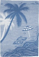 "28"" x 20"" My Happy Place Kitchen Towel"