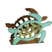 "4"" Turtle Metal Napkin Holder"