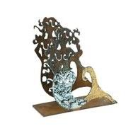 "4"" Mermaid Metal Napkin Holder"