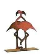"4"" Flamingo Metal Napkin Holder"