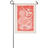 "12"" x 18"" Mini Seashells Flag"