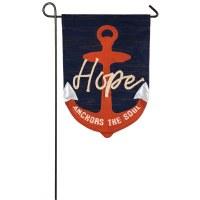 """12"""" x 18"""" Mini Hope Anchors Soul Flag"""
