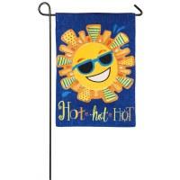 "12"" x 18"" Mini Hot Sun Flag"