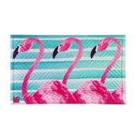 """18"""" x 30"""" Flamingo Strip Embeded Doormat"""