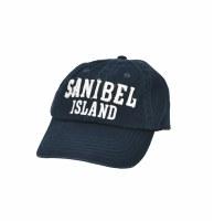 Navy Sanibel 3D Letter Cap