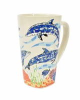 16 Oz. Dolphins Mug