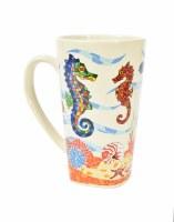 16 Oz. Seahorses Mug