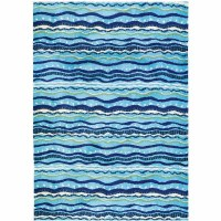 3' x 5' Wavy Stripes Rug