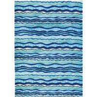 5' x 7' Wavy Stripes Rug