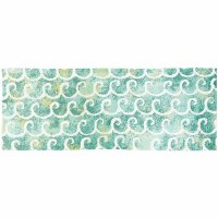 1.9' x 4.6' Dancing Waves Rug