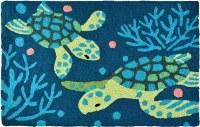 """21"""" x 33"""" Deep Blue Sea Turtle Rug"""