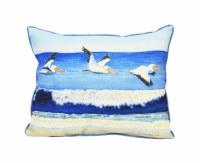 """15"""" x 19"""" Pelicans Over Water Pillow"""