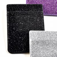 Black Sparkle Phone Sleeve