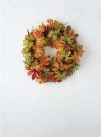 """28"""" Fall Aralia Leaf Wreath"""