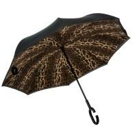 Leopard Inverted Umbrella