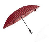 Red Compact Inverted Umbrella
