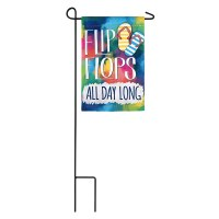Mini Flip Flips All Day Long Flag