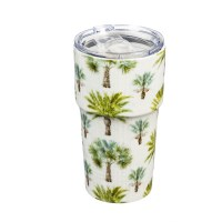 13 Oz Palm Insulated Ceramic Mug