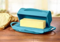 Aqua Butterie Dish With Spreader